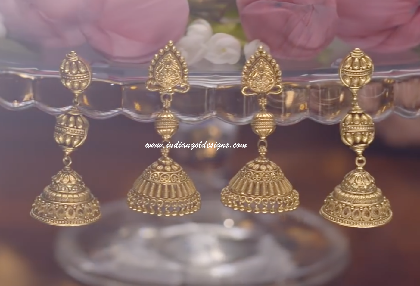 Watch - Jhumka gold designs from tanishq video