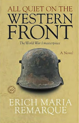 All Quiet on the Western Front by Erich Maria Remarque - book cover
