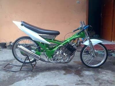 modifikasi motor drag indonesia