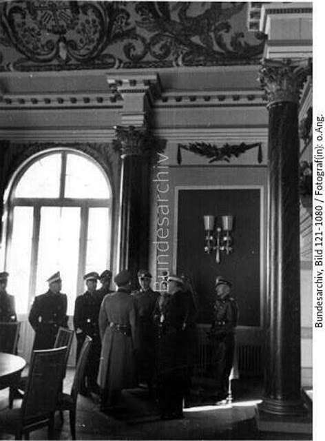 Italian police officers in Berlin on 11 March 1942 worldwartwo.filminspector.com