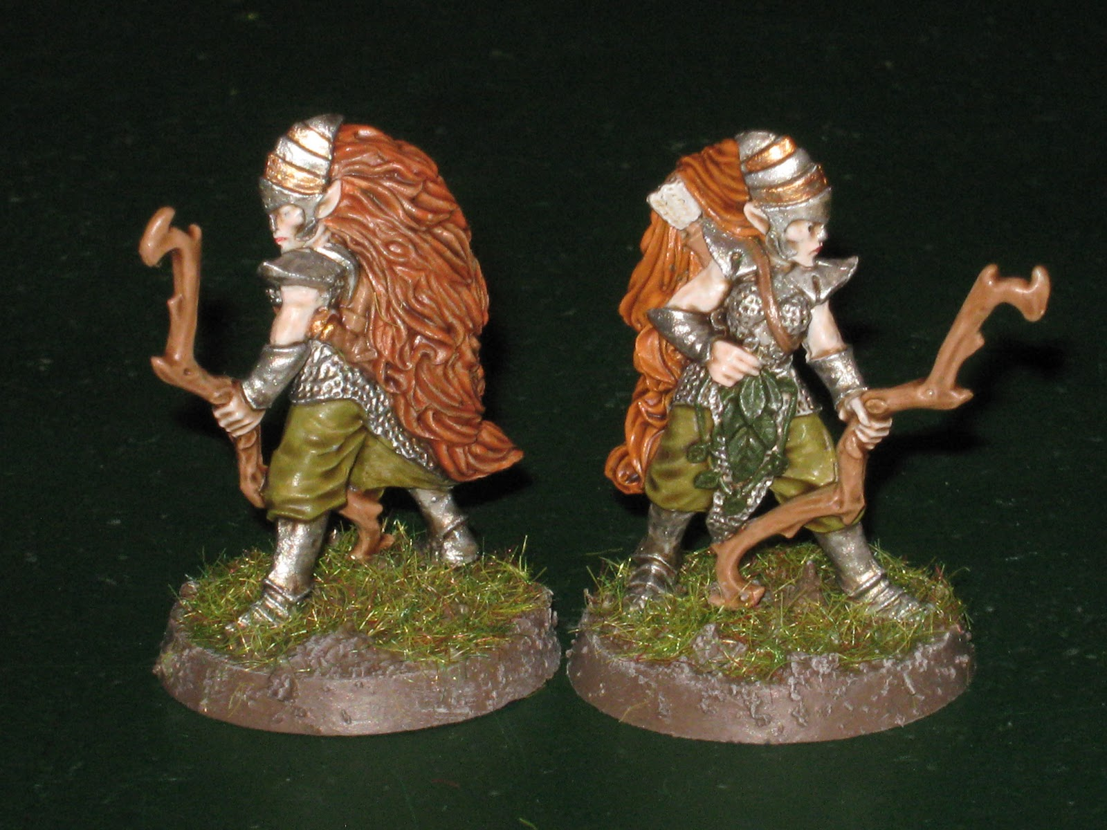 The Miniatures Man Chainmail Wood Elves In 28mm