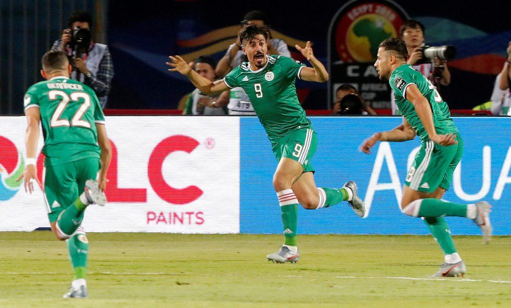 الجزائر تفوز على السنغال بهدف دون رد اليوم الجمعة بتاريخ 19-07-2019 كأس الأمم الأفريقية