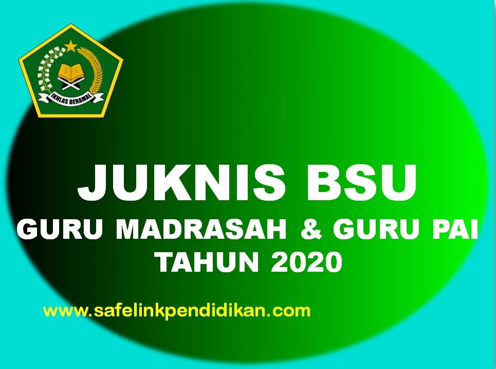 Juknis BSU Bagi Guru Madrasah