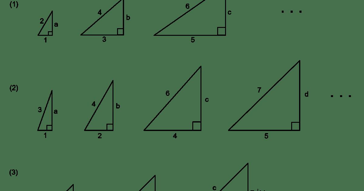MEDIAN Don Steward mathematics teaching: pythagoras and