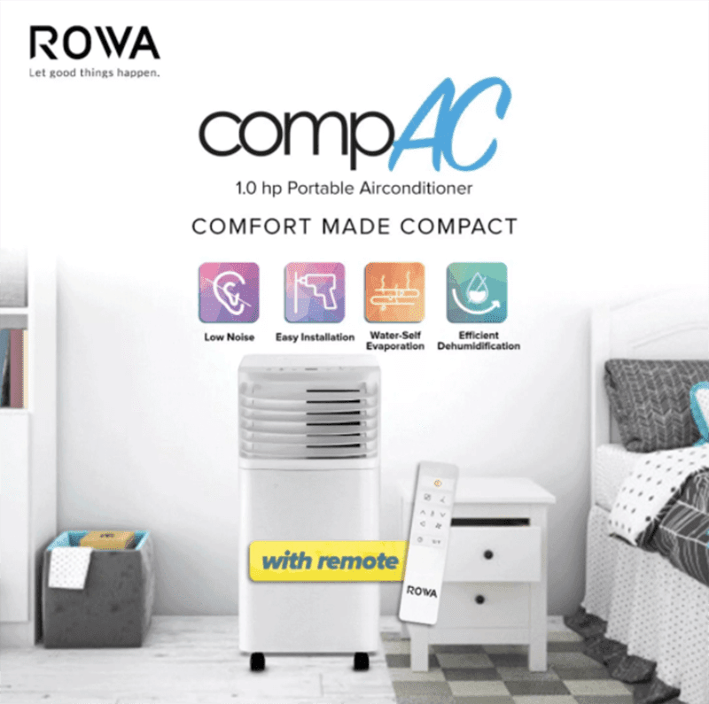 Deal: ROWA's portable air conditioner gets 10 percent off only until today!