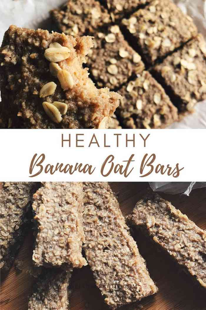 Easy Banana Oat Bars Recipe