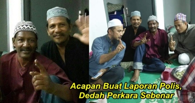 Viral Peluk Islam, Acapan Buat Laporan Polis