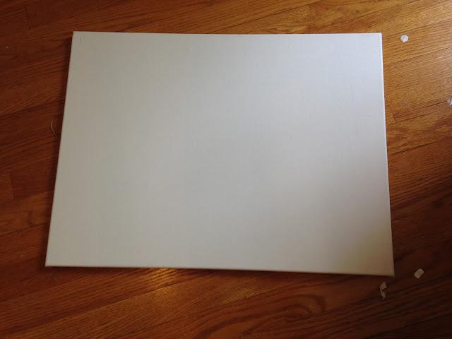 Silhouette tutorial, HTV, heat transfer vinyl, stretched canvas, canvas, heat press, iron
