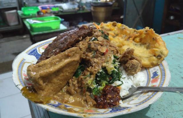 10 Kuliner Makanan Khas Boyolali - Nasi Tumpang Boyolali