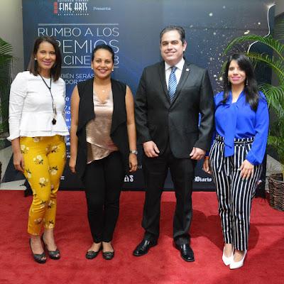 Yahaira Farias, Zumaya Cordero, Paul Soto y Angela Rodriguez.