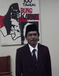 Islan Gatot Imbata anggota DPRD Jatim sekaligus mantan juru kunci Istana Gebang