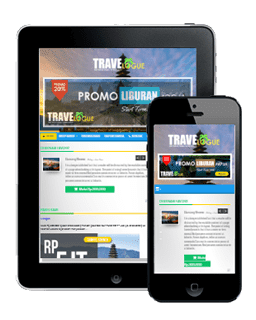 OKEtravelo - Blogspot Template Travel Agen
