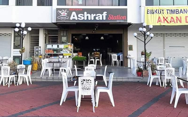 Makan Tengahari di Ashraf Station Sendayan Merchant Square