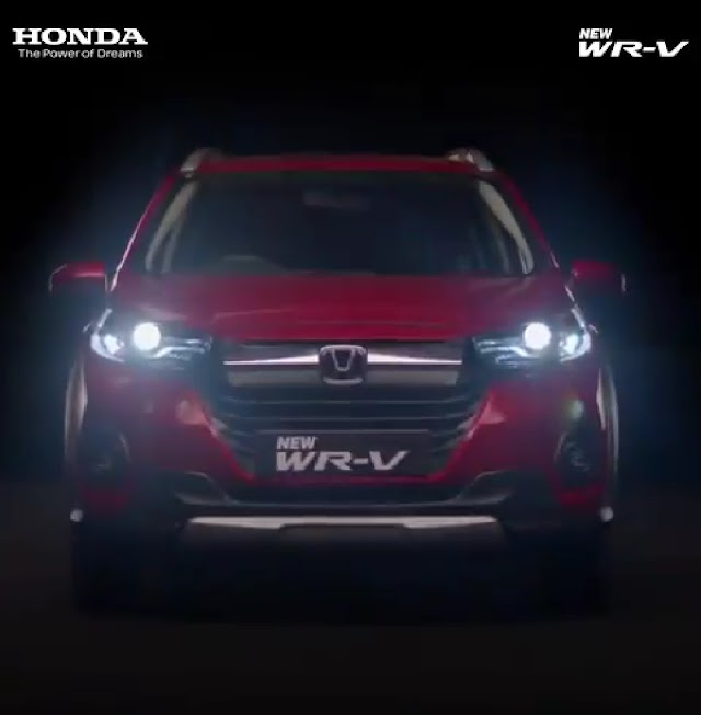 Honda ready to launch Honda WRV SUV Facelift in 2 july 2020.