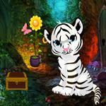 Games4King White Tiger Cub Rescue