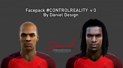 Facepack #ControlReality V'0 by Daniel Design