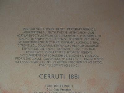 Cerruti 1881 Pour Femme toaletná voda pre ženy zloženie