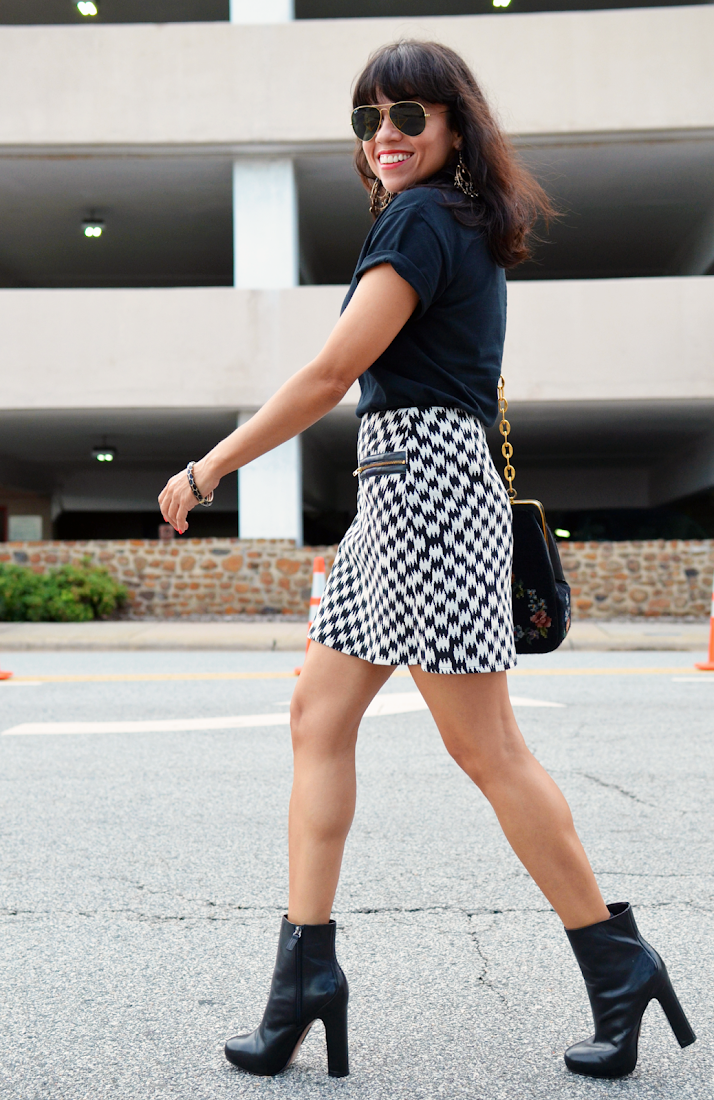 Houndstooth Street Style