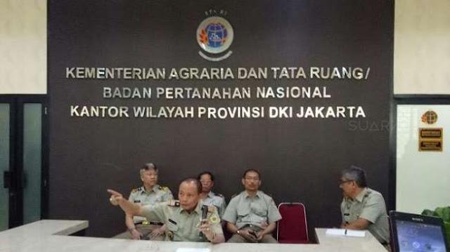 BPN Sebut Penerbitkan Sertifikat HGB Pulau D Diminta Jokowi