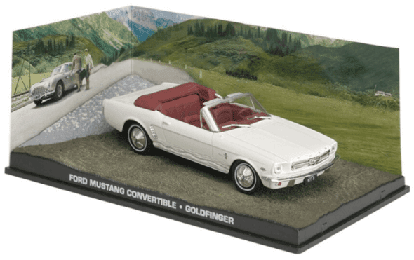 Ford Mustang convertible - Goldfinger 1:43 colección james bond
