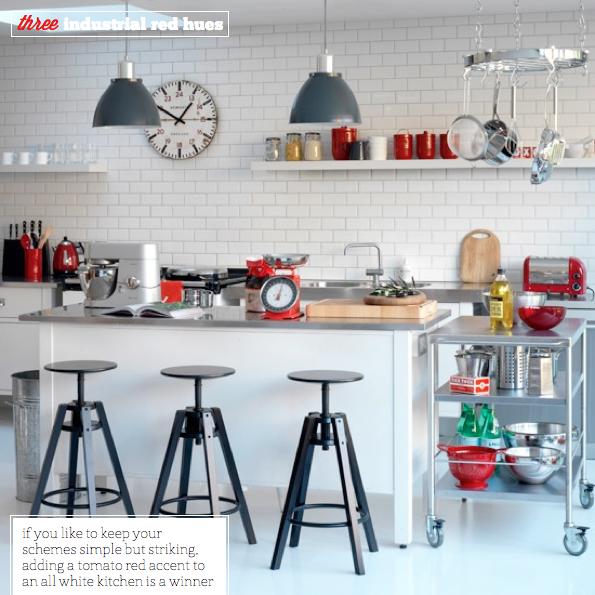 cocina industrial  Decorar tu casa es facilisimocom