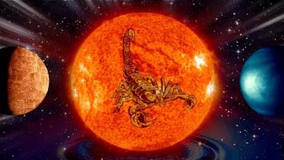 23 octombrie 2021: Soarele își începe tranzitul în Scorpion