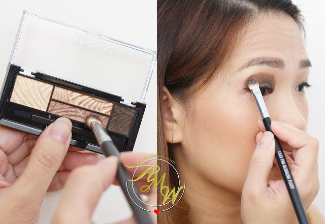 a photo on how to create quick and easy smokey eye makeup