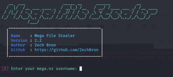 enter the username