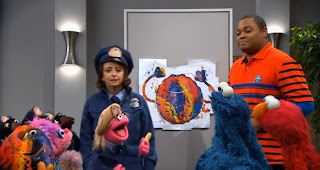 Sesame Street The Cookie Thief