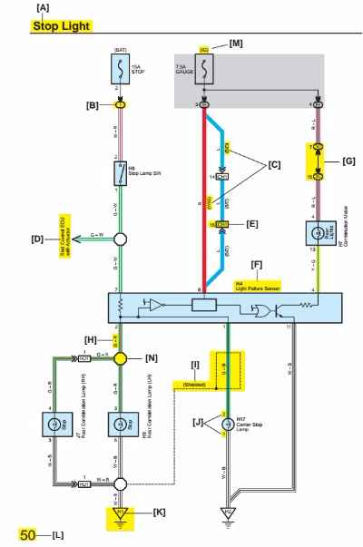 2007 Toyota Camry Electrical Wiring Diagram  Wiring
