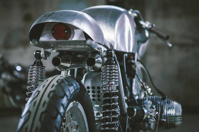 BMW R80 By Kott Motorcycles Hell Kustom