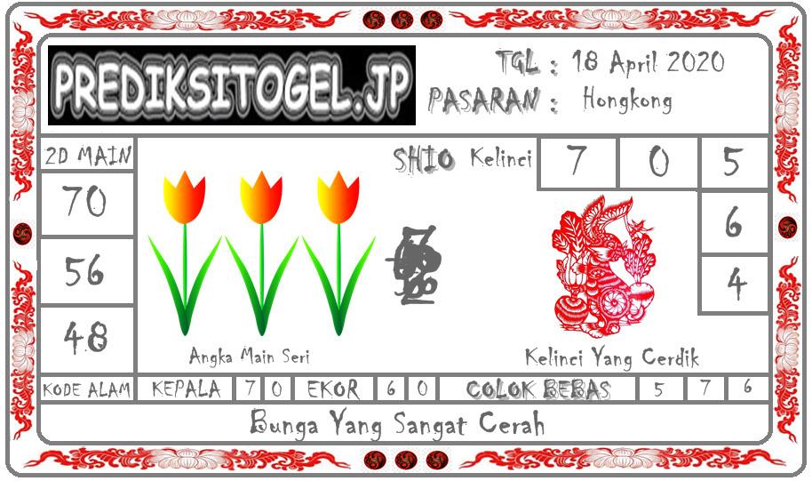 Prediksi Togel Hongkong 18 April 2020 - Prediksi Togel JP