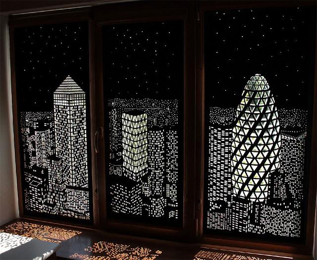 perforowane roley ma okna