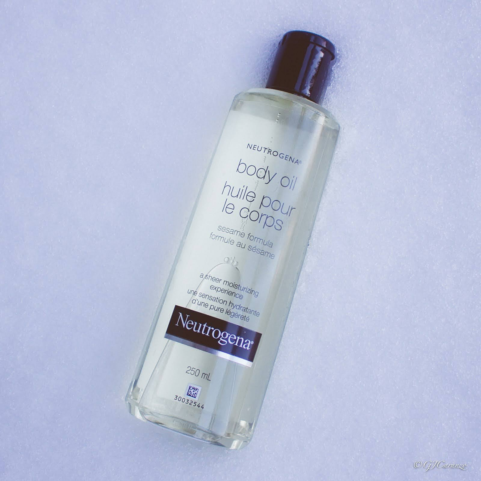 neutrogena body oil review