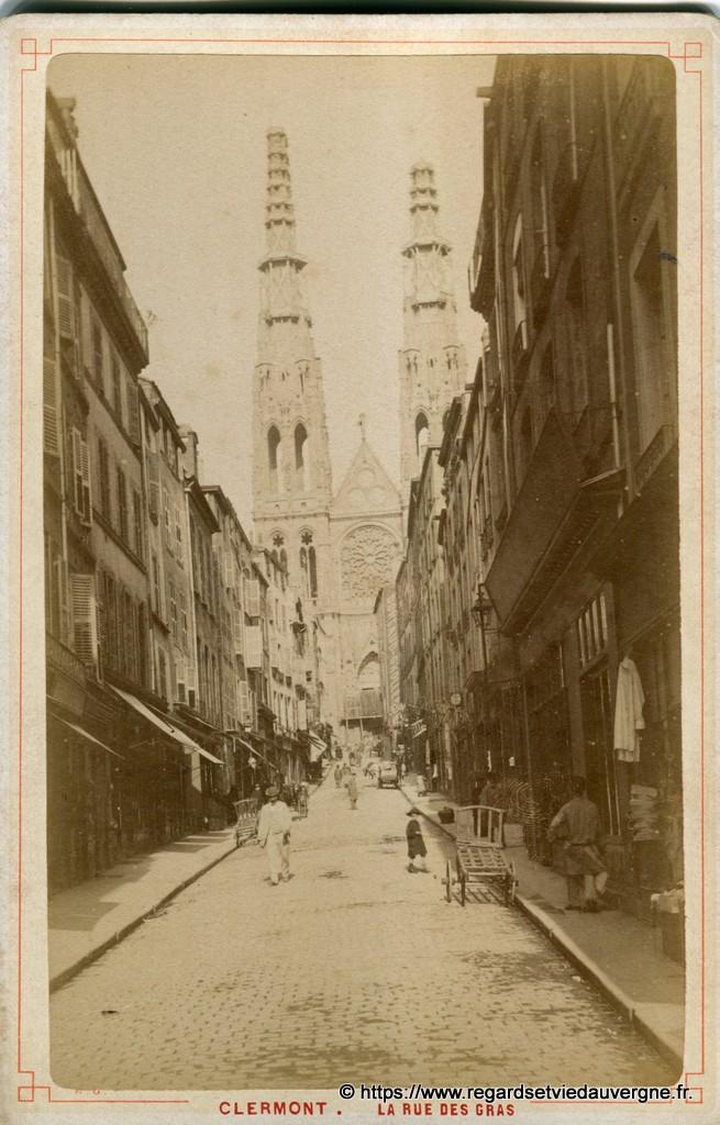 Cathédrale Notre Dame de l'Assomption de Clermont-Ferrand 1880
