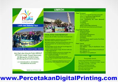 Contoh Contoh Desain BROSUR Dari Percetakan Digital Printing Terdekat