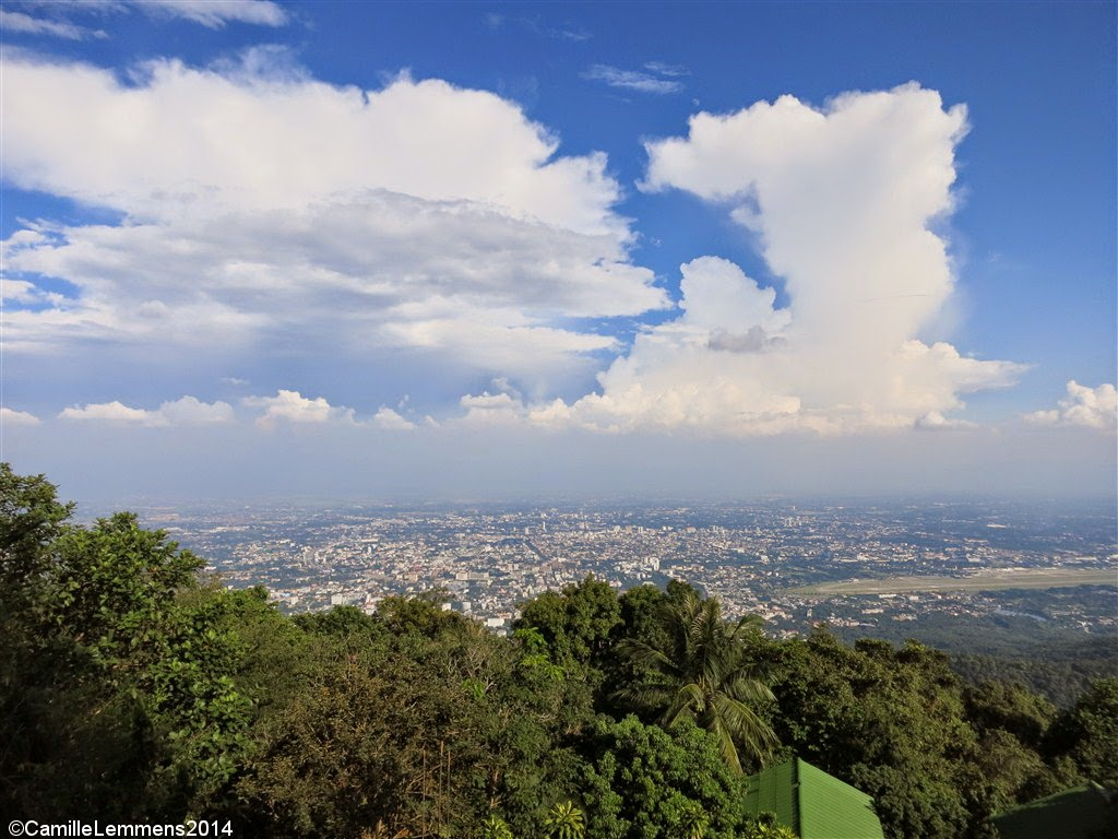 Doi Suthep vieuw over Chiang Mai