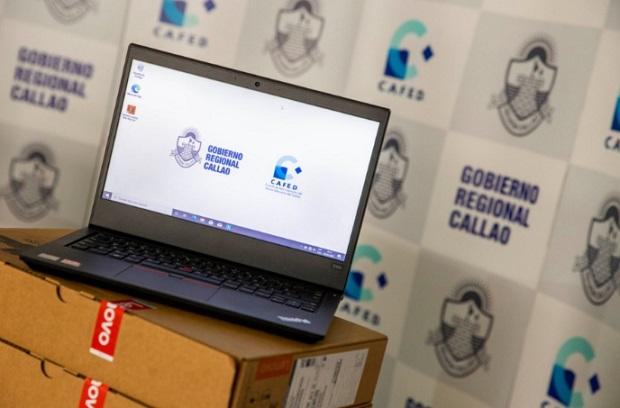 Entregan 2,290 laptops a docentes de colegios del Callao