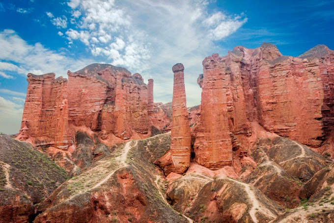 Zhangye Danxia National Geopark, China (with Map & Photos)