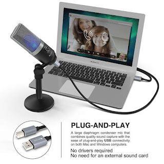 FiFINE K670 USB Microphone for Recording, Streaming, Voice Over, FiFINE K670 Metal Body USB Microphone-  Best For YouTube Recording, Streaming, Voice Over,