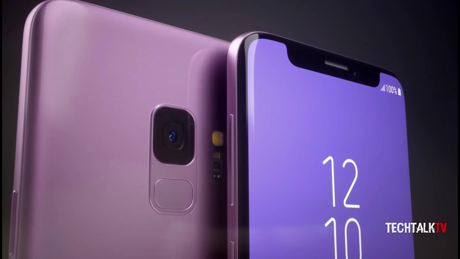 Samsung Galaxy S9 With a Notch