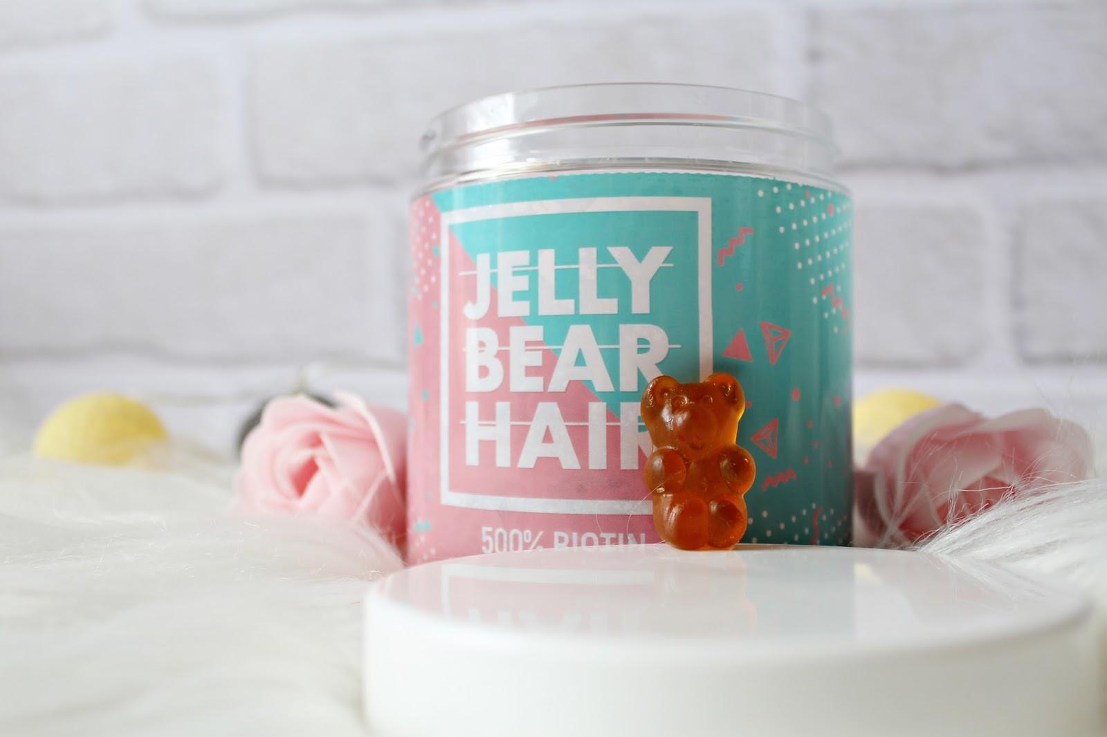 JELLY BEAR HAIR - witaminy na włosy w żelkach!