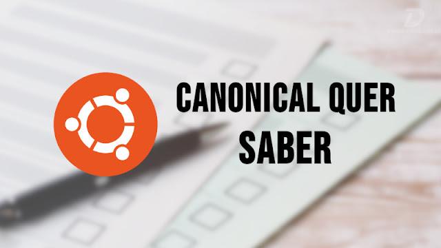 Canonical lança pesquisa para saber o que você quer ver no Ubuntu 20.04 LTS