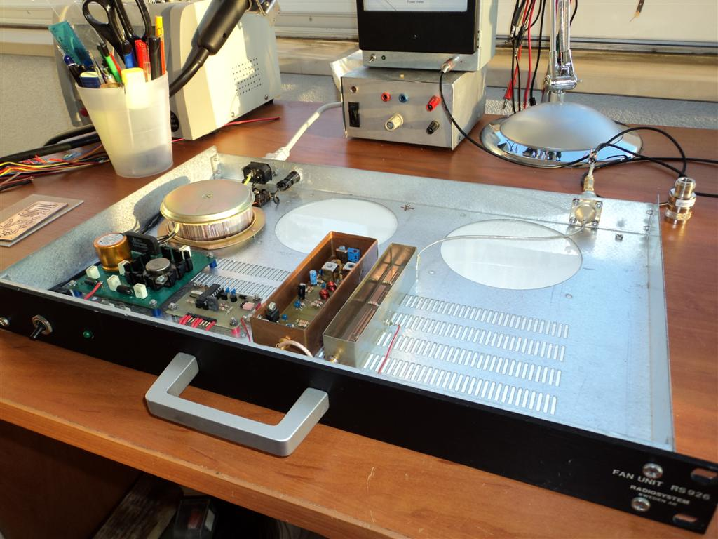 Croatia microwave: Simple beacon for 1296 MHz - S53MV design