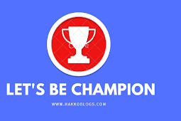 "mari menjadi seorang ""CHAMPION"""