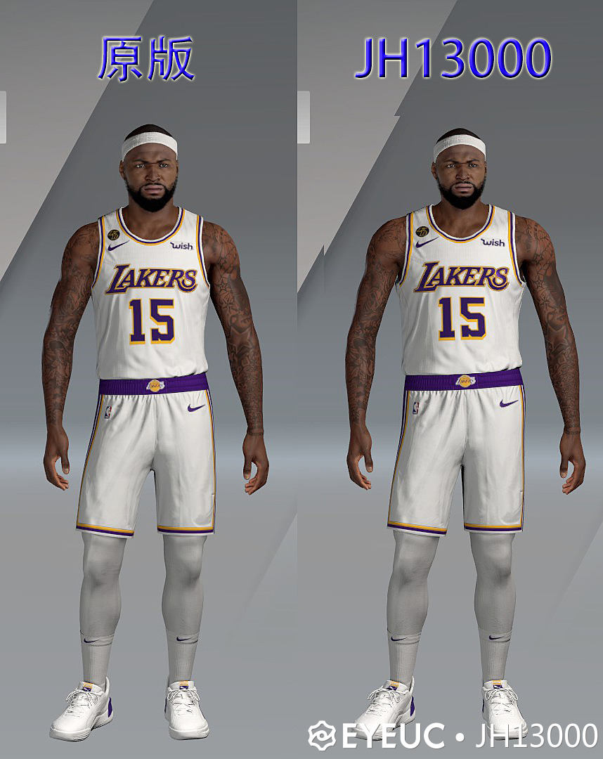 Demarcus Cousins Cyberface and Body Model By JH13000 [FOR 2K21]