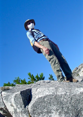 Mission Impossible Man on Kalk Bay Peak