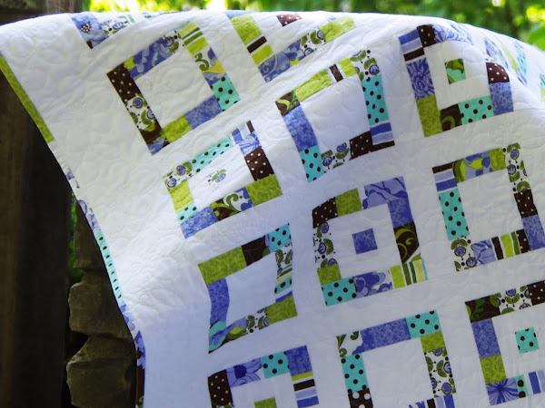 Audrina's Scrappy Baby Boxes Quilt