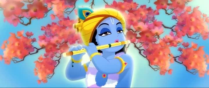 Screen Shot Of Krishna Aur Kans (2012) Dual Audio Movie 300MB small Size PC Movie
