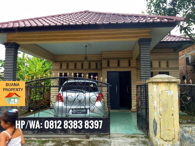 Jual rumah mungil murah 425 JUTA di Jl. Gaperta Ujung Klambir 5 Medan Sumatera Utara